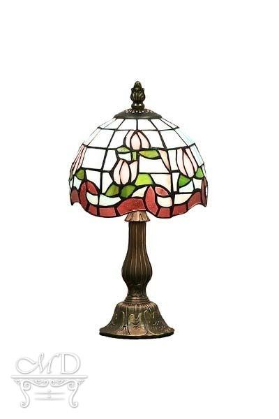 Lampa Witrażowa 34X18X18Cm