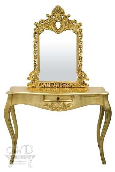 Toaletka Złota