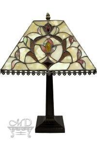 Lampa Witrażowa 48X32X32Cm