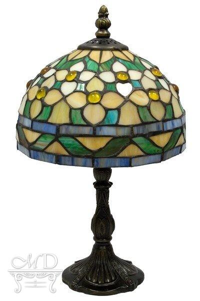 Lampa Witrażowa 33,5X20X20Cm