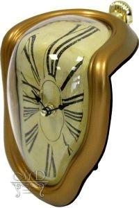 Zegar Złoty 19X15X11Cm (20)