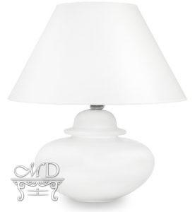 Pl Lampa Ceramiczna Vegas-1-Szkliwiona Z Abażurem
