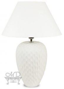 Pl Lampa Ceramiczna Vigo-2-Szkliwiona Z Abażurem
