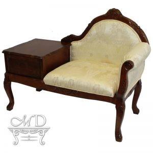 Fotel Z Szufladą 98X127X55Cm