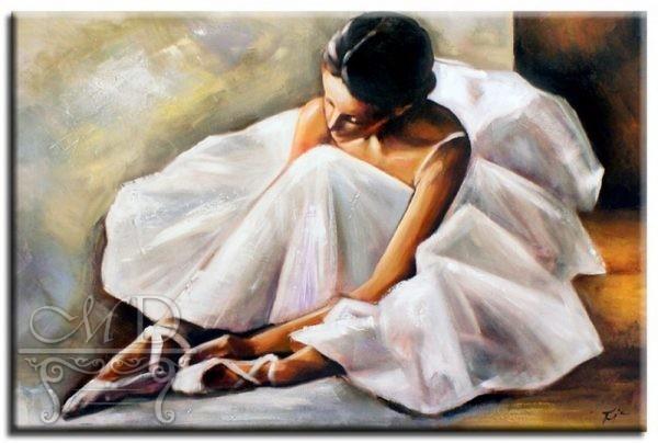 Obraz olejny Baletnica