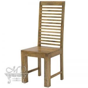 Krzesło z drewna mango
