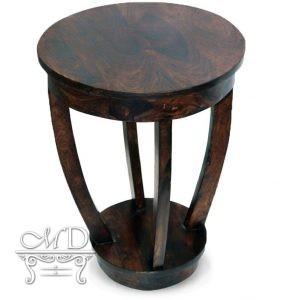 Stolik Pod Telefon Okrągły