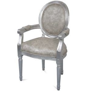 Krzesło Srebrne