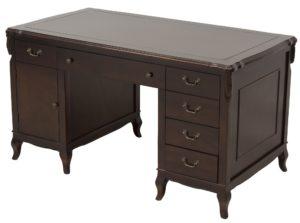 Stylowe biurko gabinetowe z drewna