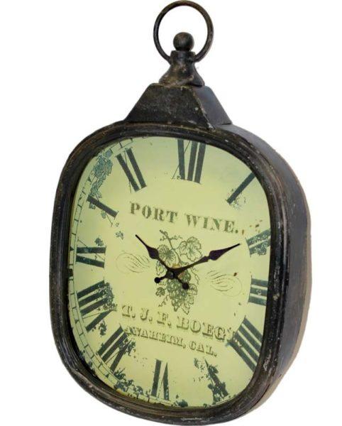 Zegar Metalowy 39X24X5Cm (5)