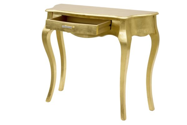 Stolik Złoty