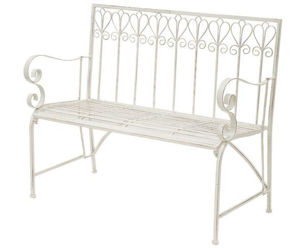 Dekoracyjna ławka ogrodowa