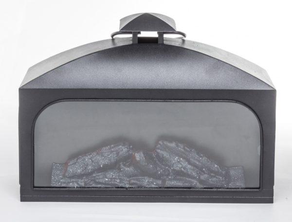 Lampion Metalowy Led