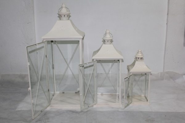 Lampion Metalowy