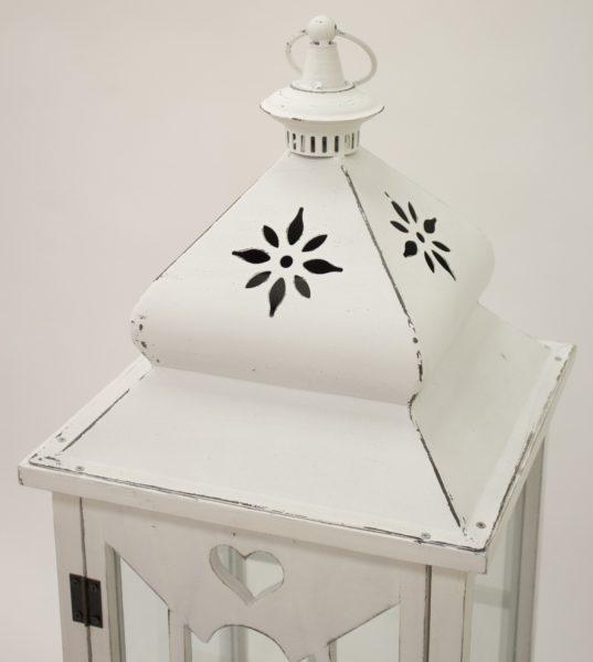 Lampion Drewniany S/3