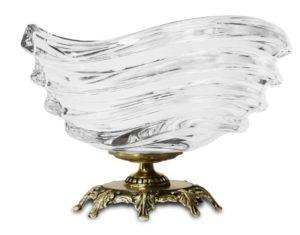Pl Wyrób Dekoracyjny Szkło+Mosiądz